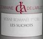 Domaine de l'Arlot Vosne-Romanée  - label