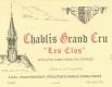 Vincent Dauvissat Chablis Grand Cru Les Clos - label
