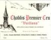 Vincent Dauvissat Chablis Premier Cru Vaillons - label