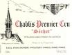 Vincent Dauvissat Chablis Premier Cru Séchet - label