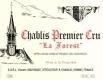 Vincent Dauvissat Chablis Premier Cru Les Forêts (La Forest) - label