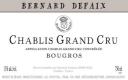 Domaine Bernard Defaix Chablis Grand Cru Bourgros - label