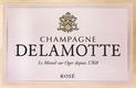 Delamotte Rosé - label