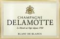 Delamotte Blanc de Blancs - label