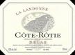 Delas Frères Côte Rôtie La Landonne - label