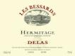Delas Frères Hermitage Les Bessards - label