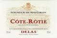 Delas Frères Côte Rôtie Seigneur de Maugiron - label