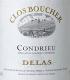 Delas Frères Condrieu Clos Boucher - label
