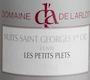 Domaine de l'Arlot Nuits-Saint-Georges Premier Cru Les Petits Plets - label