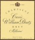 Deutz Cuvée William Deutz - label