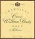 Deutz Cuvée William Deutz - label