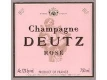 Deutz Rosé - label