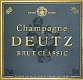 Deutz Brut Classic - label