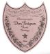 Dom Pérignon Rosé - label
