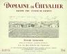 Domaine de Chevalier  Cru Classé de Graves - label