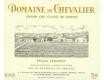Domaine de Chevalier Blanc Cru Classé de Graves - label