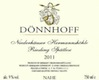 Dönnhoff Niederhäuser Hermannshohle Riesling Spätlese - label