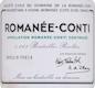Domaine de la Romanée-Conti Romanée-Conti Grand Cru  - label