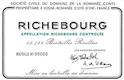 Domaine de la Romanée-Conti Richebourg Grand Cru  - label