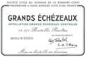 Domaine de la Romanée-Conti Grands Echezeaux Grand Cru  - label