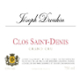 Maison Joseph Drouhin Clos Saint-Denis Grand Cru  - label