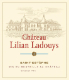 Château Lilian Ladouys  Cru Bourgeois - label