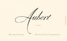 Aubert Wines Ritchie Vineyard Chardonnay - label