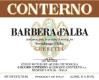 Giacomo Conterno Barbera d'Alba Cerretta - label
