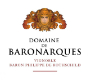 Domaine de Baronarques  - label