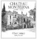 Chateau Montelena Chardonnay - label