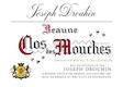 Maison Joseph Drouhin Beaune Premier Cru Clos des Mouches Blanc - label
