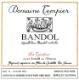 Domaine Tempier Bandol Rose - label