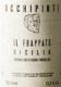 Azienda Agricola Arianna Occhipinti Il Frappato - label