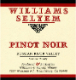 Williams Selyem Russian River Valley Pinot Noir - label