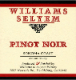 Williams Selyem Sonoma Coast Pinot Noir - label