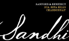 Sandhi Sanford & Benedict Chardonnay - label