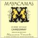 Mayacamas Chardonnay - label