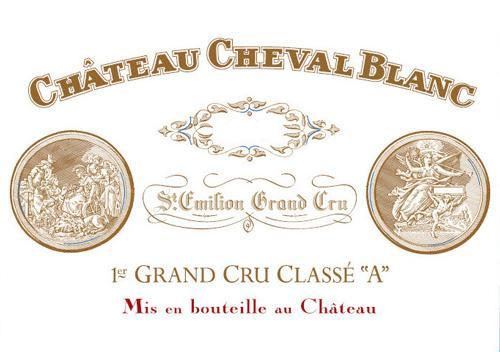 Château Cheval Blanc Le Petit Cheval Blanc - label