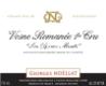 Domaine Georges Noëllat Vosne-Romanée Premier Cru Les Beaux Monts - label