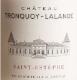 Château  Tronquoy-Lalande  Cru Bourgeois - label