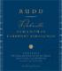 Rudd Samantha's Cabernet Sauvignon - label