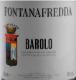 Fontanafredda Barolo  - label