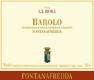 Fontanafredda Barolo Vigna La Rosa - label