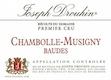 Maison Joseph Drouhin Chambolle-Musigny Premier Cru Les Baudes - label
