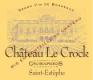 Château Le Crock  - label