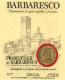Produttori del Barbaresco Barbaresco  - label