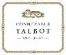 Château Talbot Connétable - label