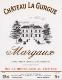 Château La Gurgue  - label