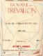 Domaine de Trévallon Alpilles Blanc - label