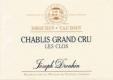 Maison Joseph Drouhin Chablis Grand Cru Les Clos - label